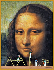 """Moaning Lisa"" Fine Art Restoration??"