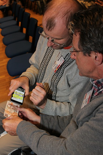 Aplikace Cash Reader účastníky velmi zaujala