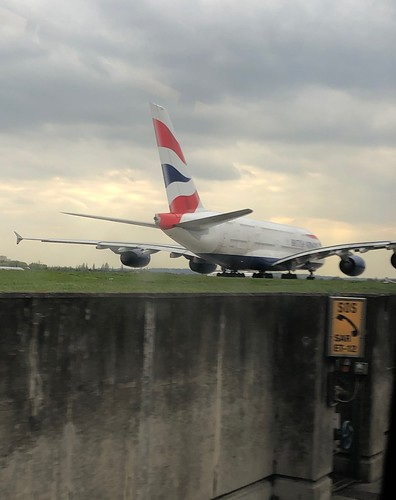 A380 Taxiing from T5 at Heathrow | by Phil & Catherine Wilkins