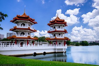 Jurong - Chinese Garden: The Pagoda Twins | by Robert GLOD (Bob)