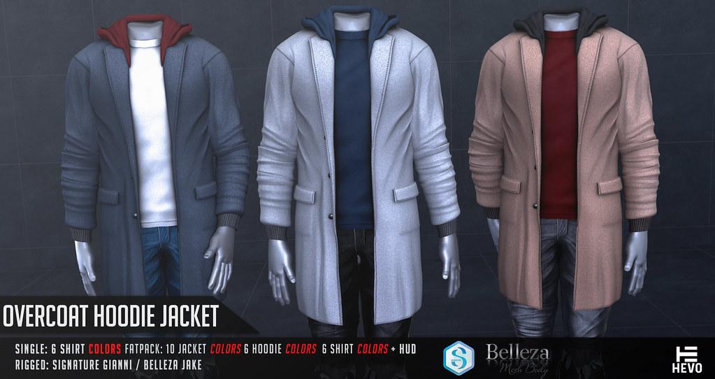 HEVO – Overcoat Hoodie @ TMD EVENT