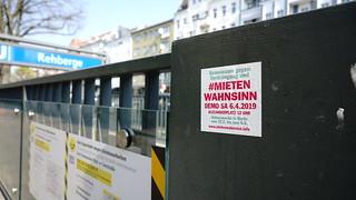 06.04.2019 Demo #Mietenwahnsinn | by linksfraktion