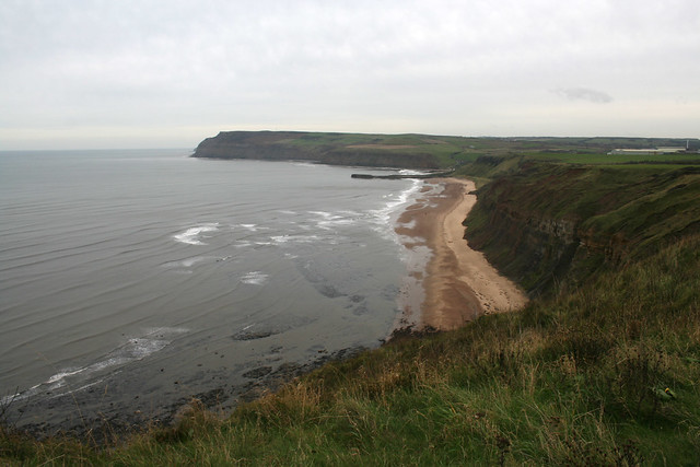 View to Cattersty Sands and Skinningrove