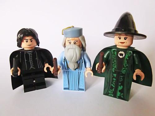 Snape Dumbledore & McGonagall   by Ptéra