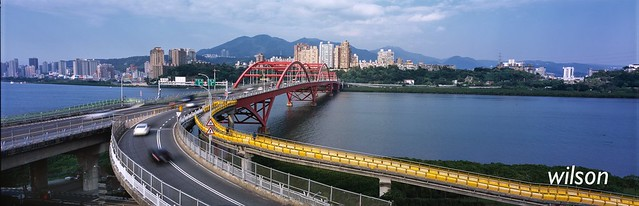 Bridge (film) Linhof  TECHNORAMA 617S Ⅲ  Schneider  Super Angulon 90mm/5.6 XL  Fujifilm RDP III