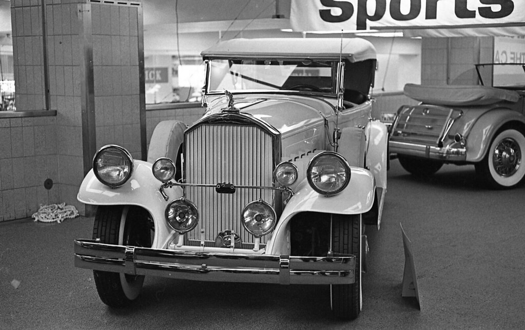 Packard NY City auto show 1965 | I believe this is a 1929 Pa… | Flickr
