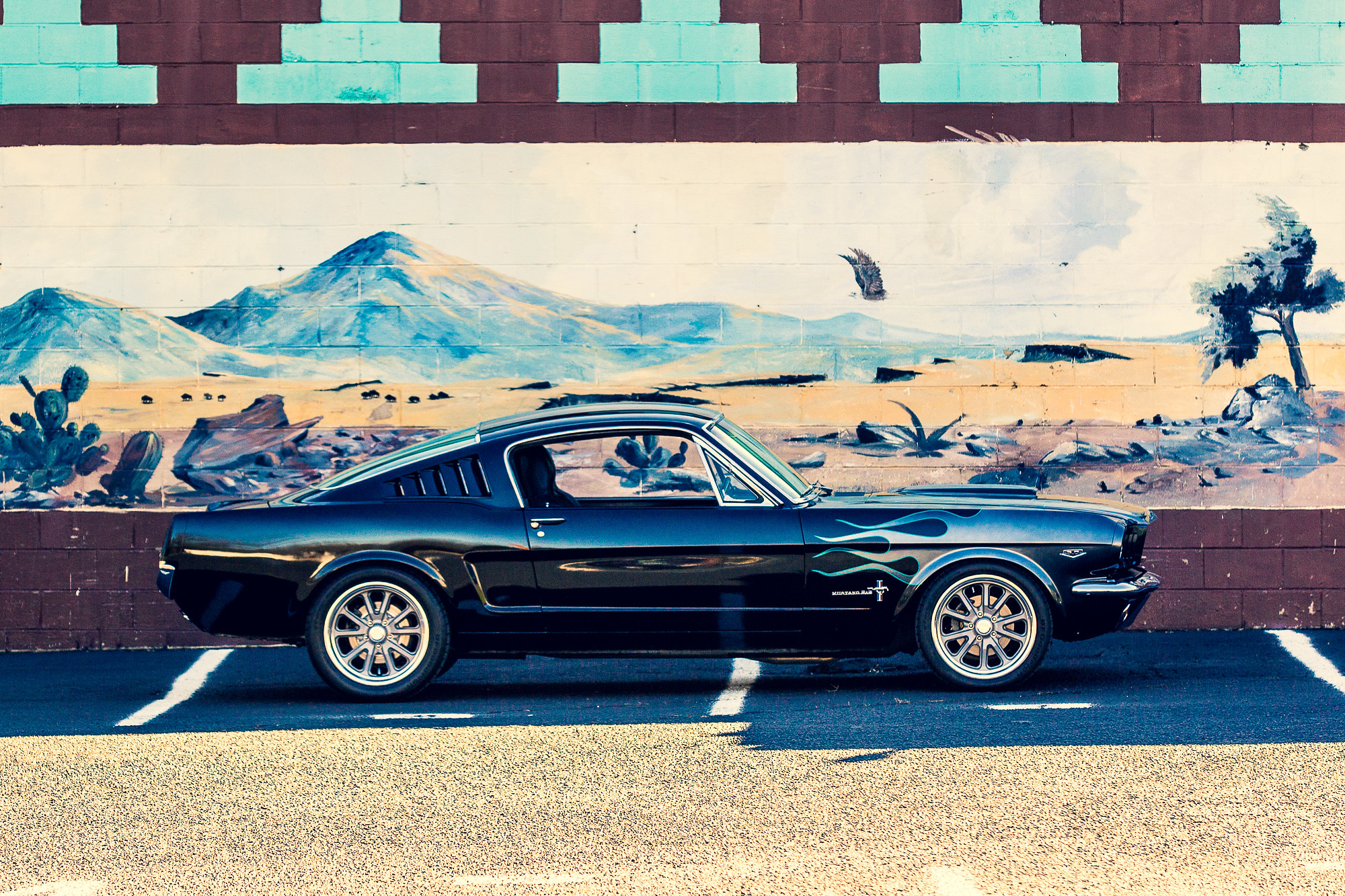 1968 Mustang 17 Inch Wheels