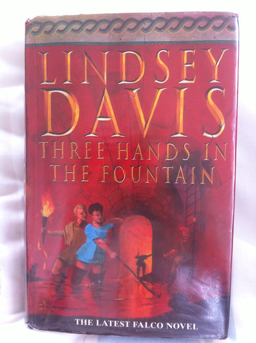 Three Hands in the Fountain - Lindsey Davis | by Mary Loosemore