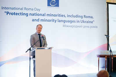 Reception on the occasion of the International Roma Day in Kyiv