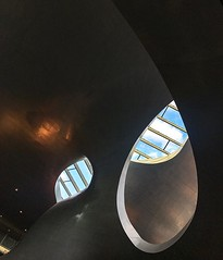 Arnhem drops #arnhem #netherlands #travel #trainstation #modern #architecturephotography #architecture #sky #blue #curves #shadows #lights #iphone6s
