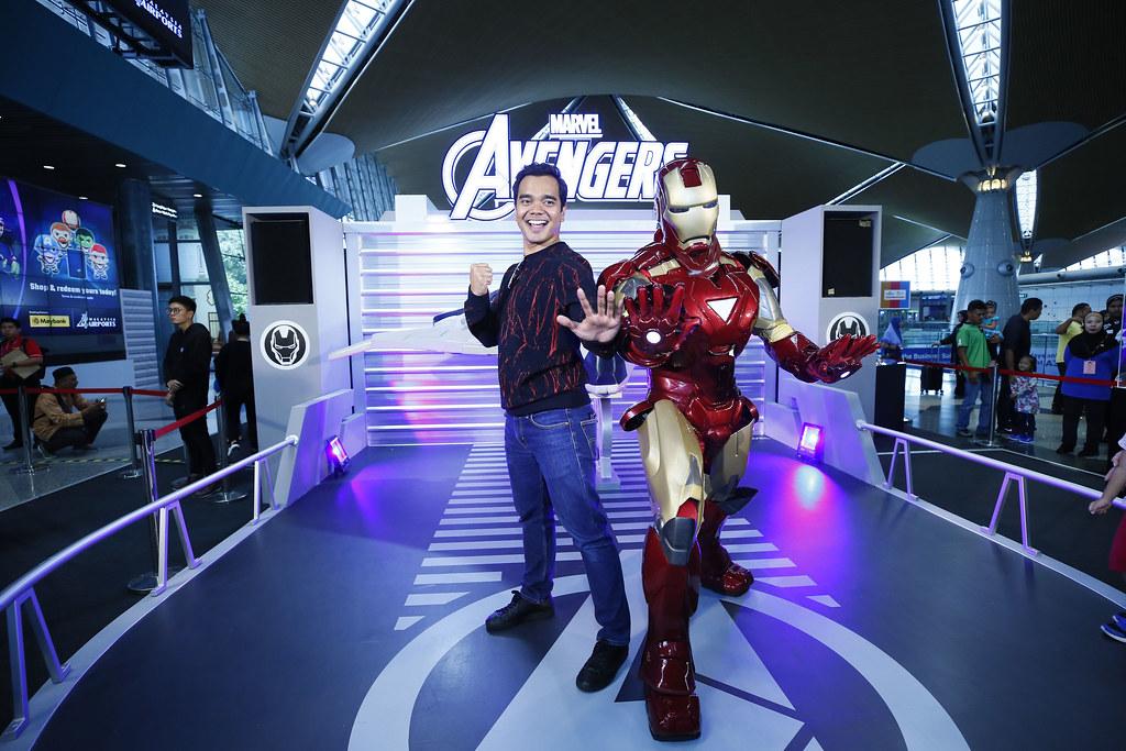 Alif Satar &Amp; Ironman
