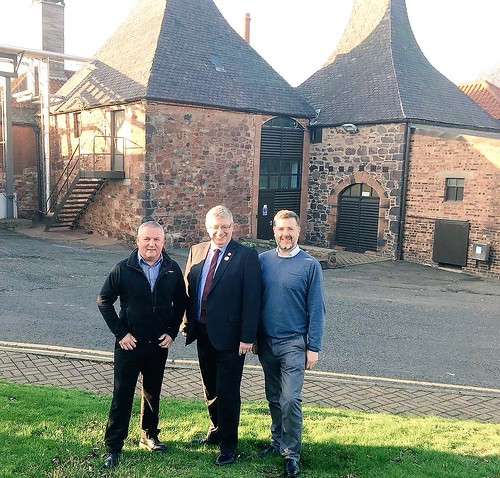 Visiting Belhaven Brewery in Dunbar | by Iain Gray MSP
