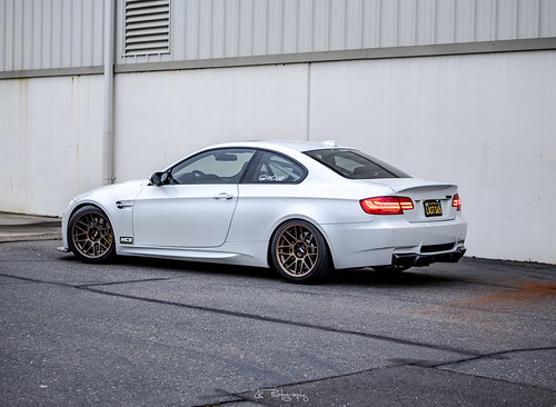 """Lacha's Dinan E92 M3 with 18"""" ARC-8 Wheels in Matte Bronze   by ApexRaceParts"""