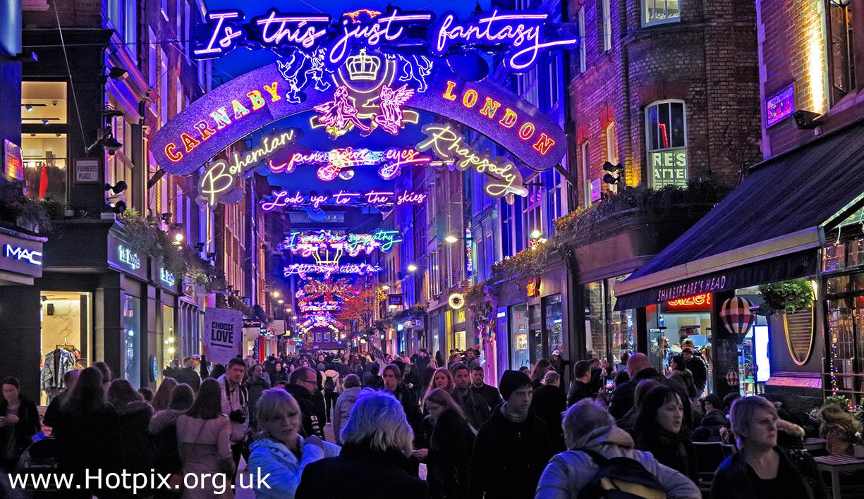 HousingITguy,Project365,2nd 365,HotpixUK365,Tone Smith,GoTonySmith,365,2365 one a day,Tony Smith,Hotpix,city,city centre,shops,shopping,London,Capital,England,UK,lights,Xmas,Christmas,Carnaby,St,Street,Oxford Circus,dusk,blue hour,SohO,Westminster,City of London