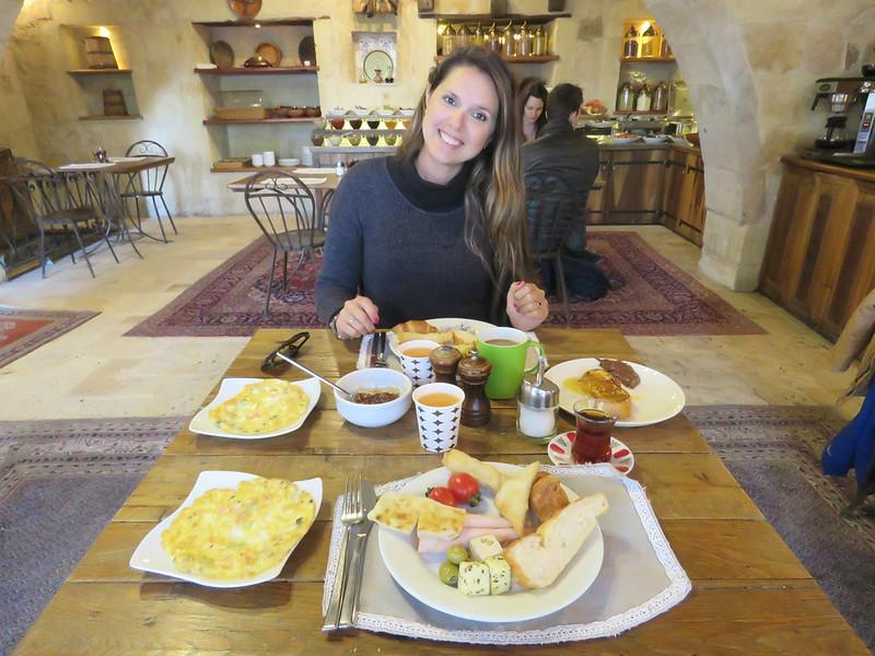 Desayuno Capadocia