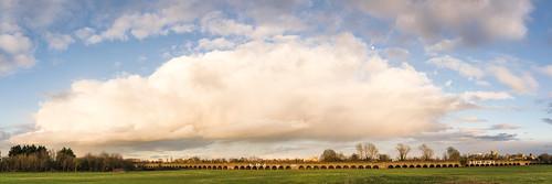 berkshire castle clouds dorney eton hugin jubileeriver panorama panoramic railway spring sunset viaduct windsor winter