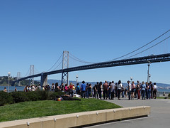 Dance Class at Oakland Bay Bridge SR600257