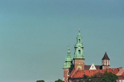 krakow cracow poland architecture analog landscape europe colour color