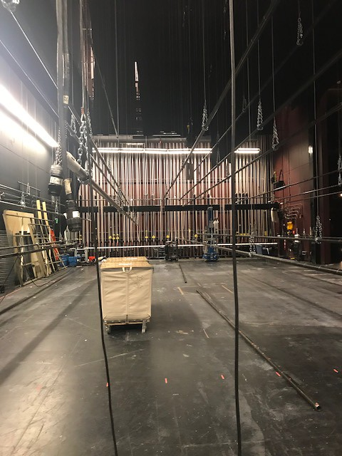 Pulling back the curtains: Backstage at the REP
