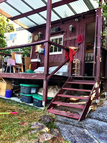 Our AirBnB Backyard cubbyhouse | by miaow