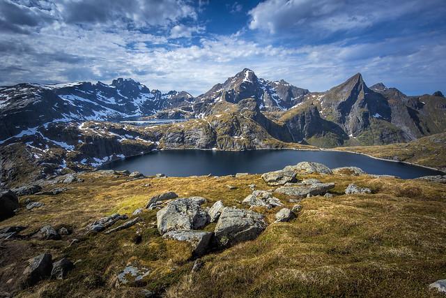 View on Tennesvatnet