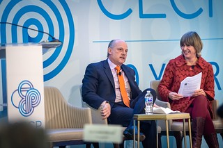 The Honorable Leo E. Strine and Prof Tensie Whelen | by CECP Photos