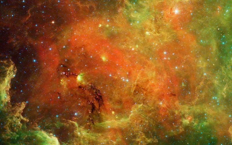 Обои космос, ios 7, абстракция картинки на рабочий стол, фото скачать бесплатно