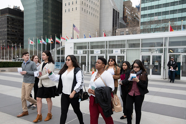 Mount Students Visit United Nations