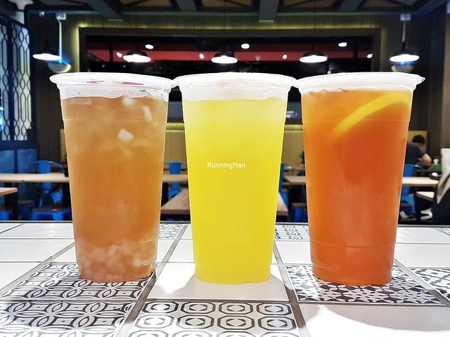Cold Drinks - Honey Lemon, Lime With Sour Plum, Winter Melon With Nata De Coco