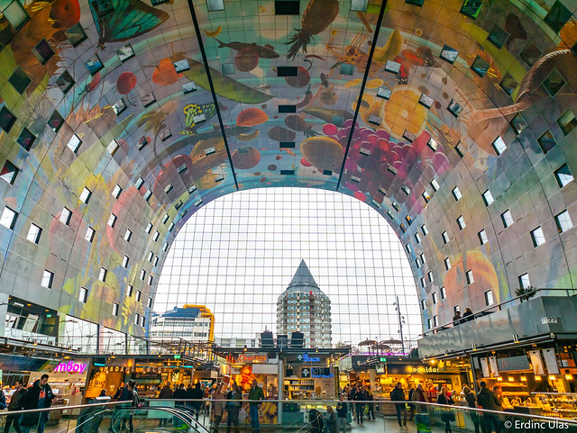 Inside the Markthal