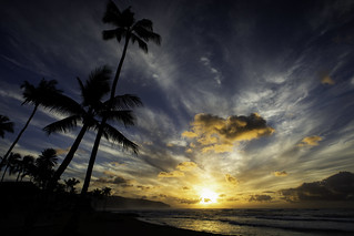 Sunset On The North Shore of Oahu, Hawaii | by El-Branden Brazil