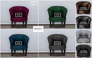 Architect. Incanto. chair colors | by Mister Lambert