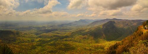 smack53 panorama southcarolina mountains scenery scenic vista springtime spring nikon d3100 nikond3100