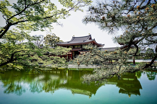 Back to Kyoto and Byodo-in