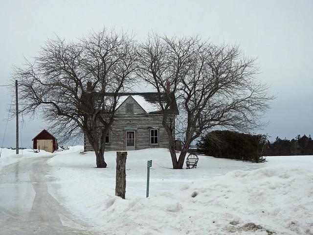 An old homestead in Carp (Ottawa), Ontario