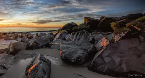 batteryherring ftmiles capehenlopen lewes delaware atlantic water sunrise