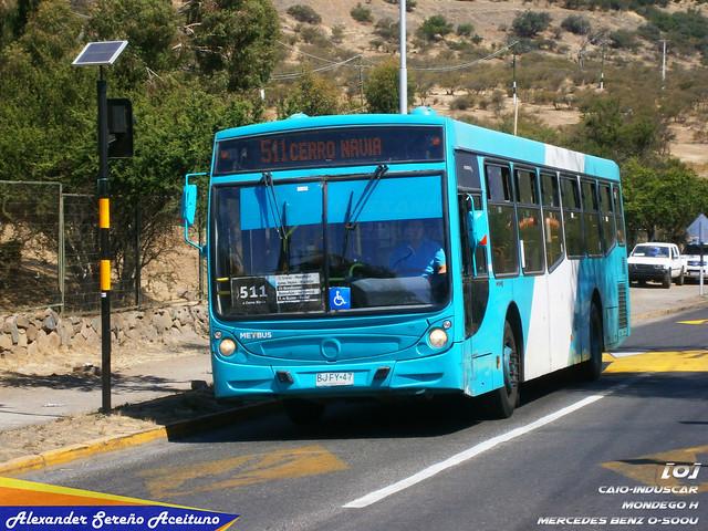 Metbus / Recorrido 511: Caio Induscar Mondego H - Mercedes Benz O-500U (BJFY47).