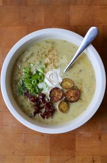 potato chowder lots of ways   by awhiskandaspoon
