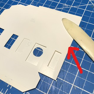 how to make a putz house   by christmasnotebook