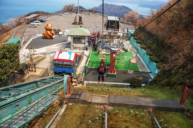 山頂公園纜車 2