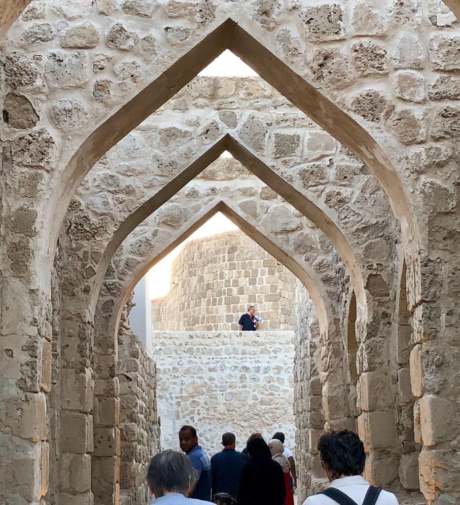 Bahrain (Manama) Bahrain fort was bild by portuguese in th