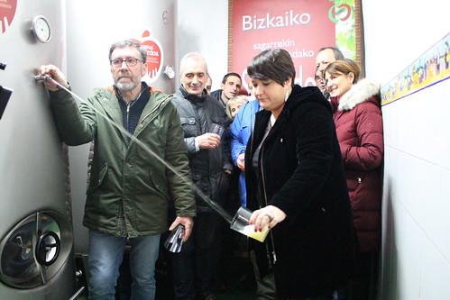 Bizkaiko Sagardo denboraldiaren irekiera 2019