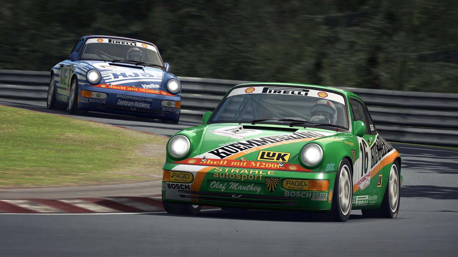 RaceRoom Porsche 911 Carrera Cup 2