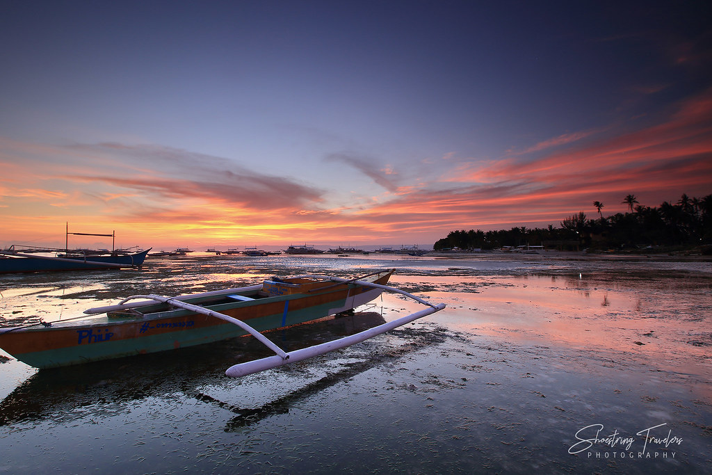 sunset at Danao Beach, Panglao Island