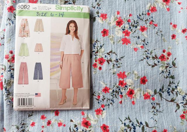 Culottes pattern