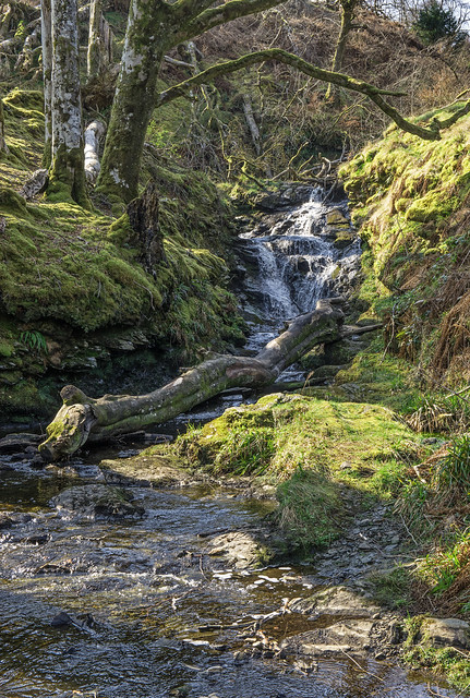Sleat Waterfall