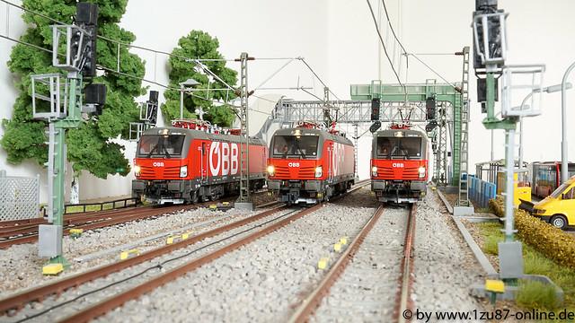 Roco 73953 und 73907 ÖBB Vectron