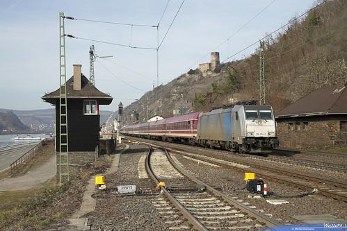 186 294 LNS . 13493 -Krokus Express- . Kaub . 23.02.19.