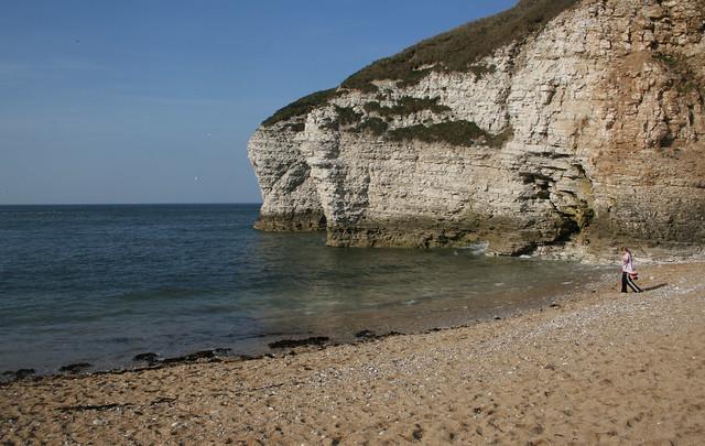 North Landing beach, Flamborough Head
