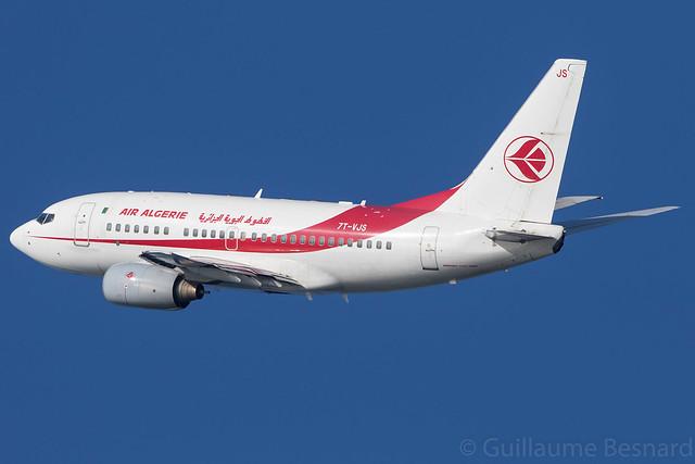 Boeing 737-600 Air Algerie 7T-VJS cn 30210/1150